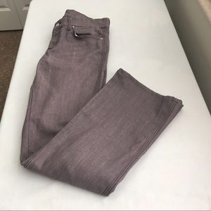"7 for all mankind Purple ""A"" Pocket Jeans - 29"